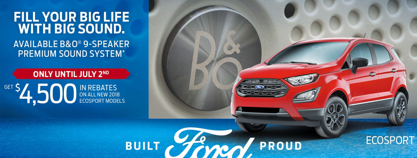 ford ecosport new smiths falls deals