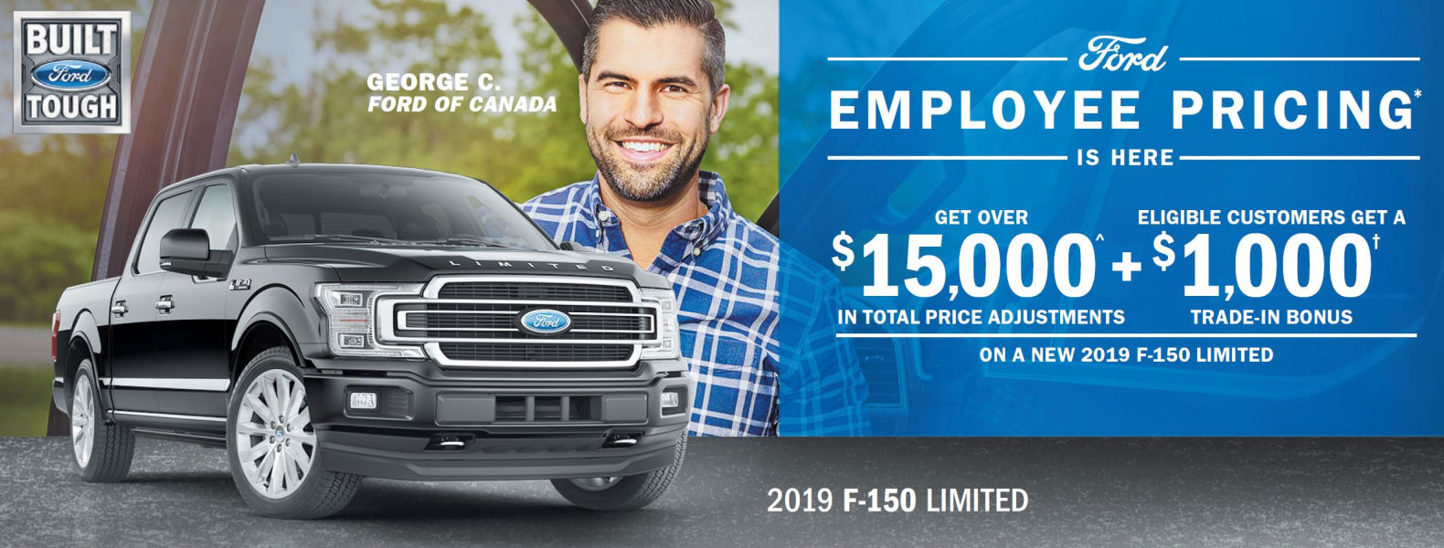 Employee Pricing Ford F-150 Smiths Falls