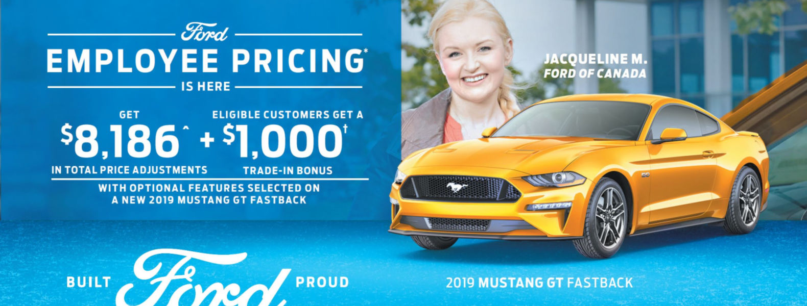 Employee Pricing Ford Mustang Smiths Falls