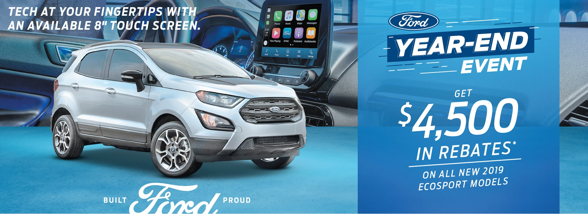 Ford EcoSport Special Offer