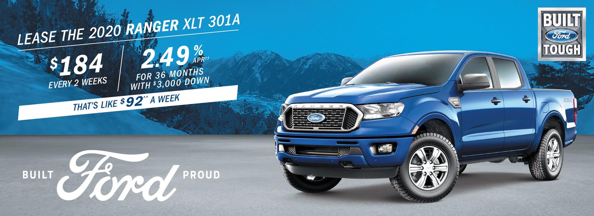 Ford Ranger Special Offer