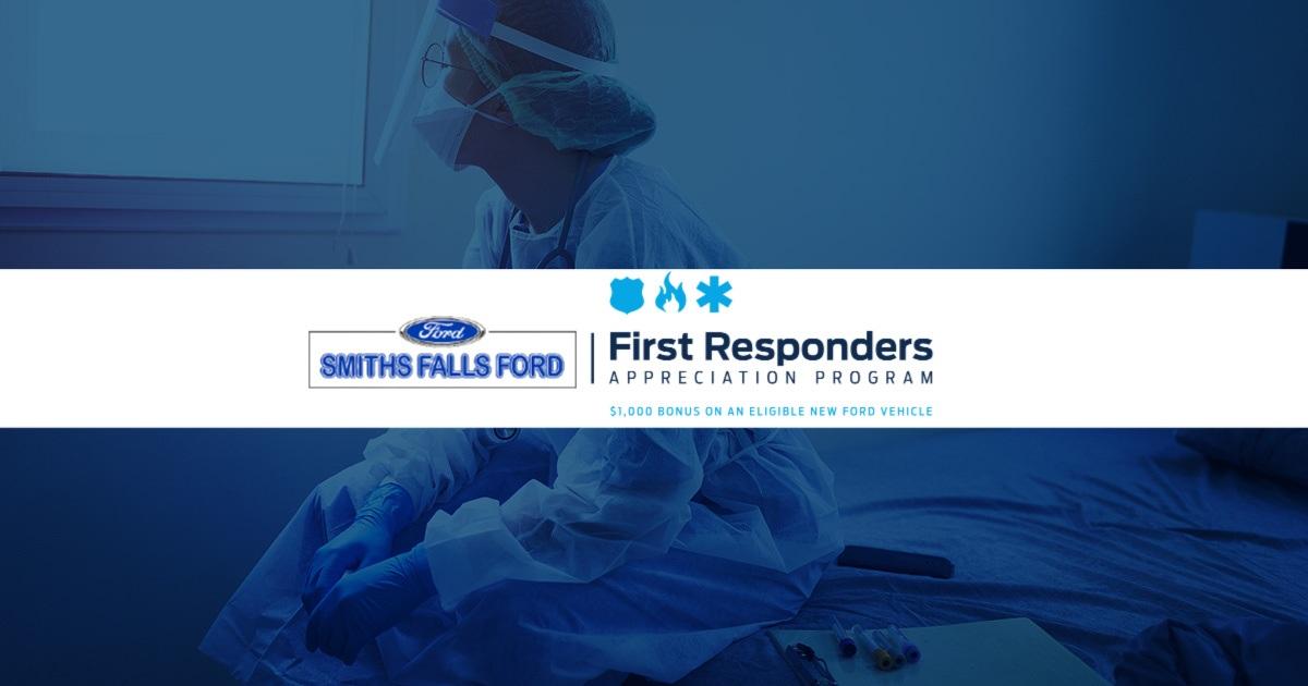 $1000 bonus ford first responders