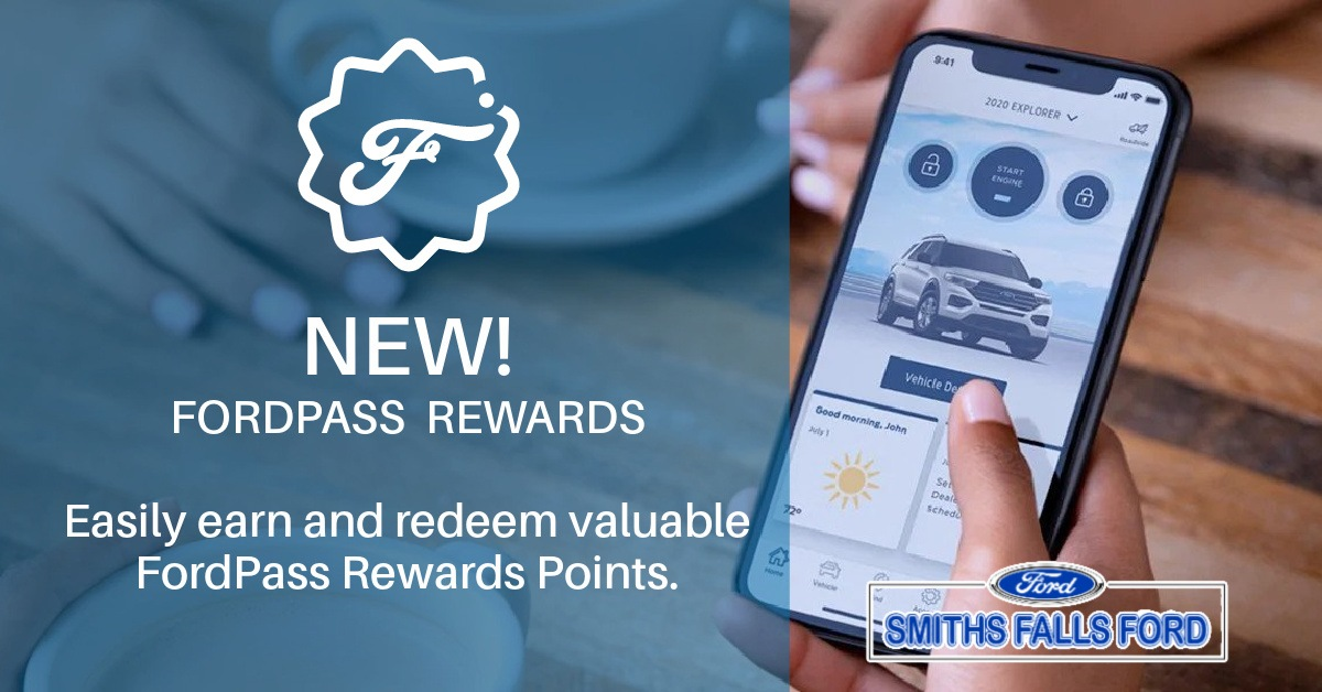 FordPass rewards app