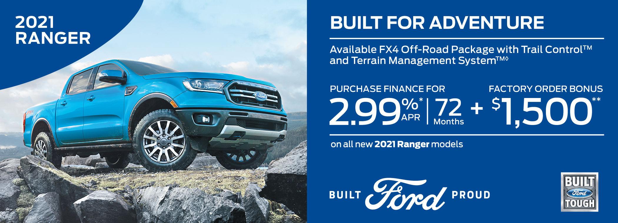 ford ranger new