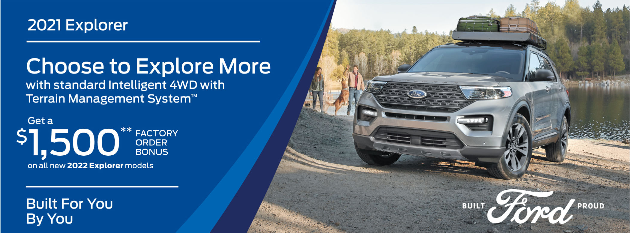 Ford Explorer Special Offer